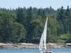 sailboating